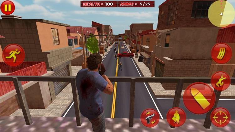 Zombie Survival War Hero screenshot-8