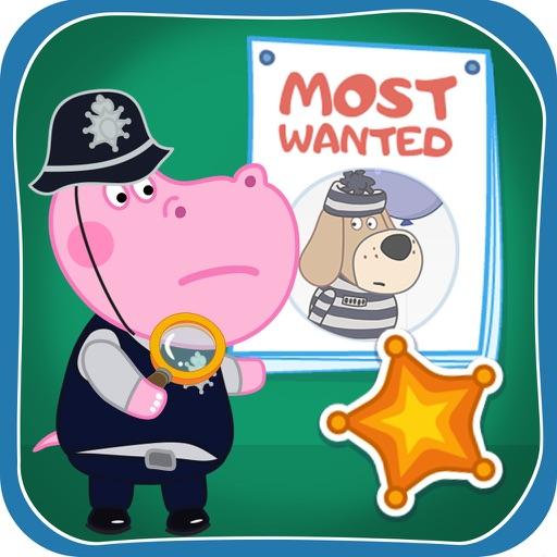 Patrulla policial de niños