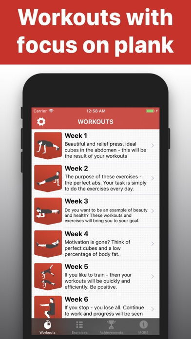 Plank - functional workouts pr screenshot one