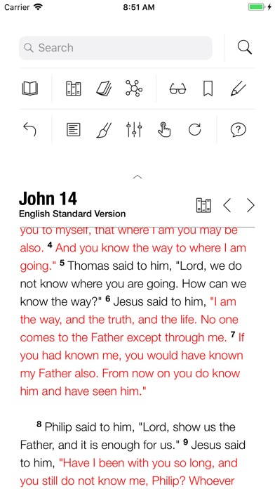 Holy Bible screenshot two