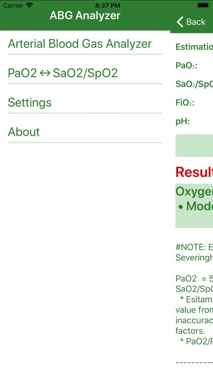 Arterial Blood Gas (Pro) screenshot-4