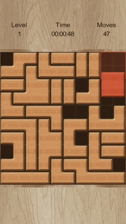 Move The Red Block (ad-free) screenshot-3