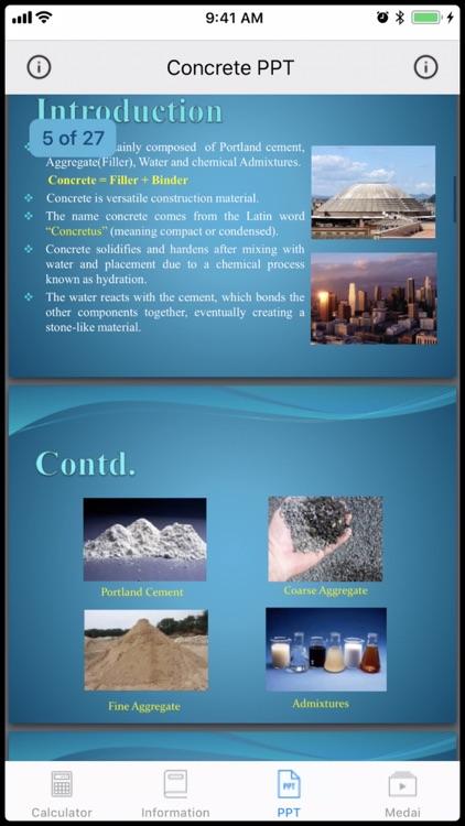 Concrete Calculator 3