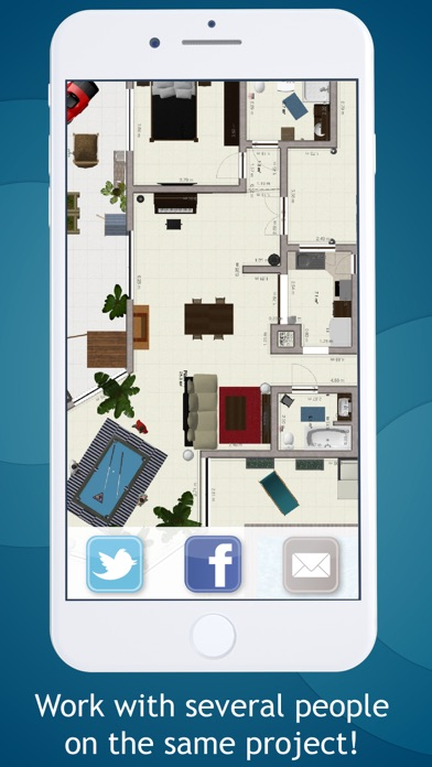 Keyplan 3D Lite - Home design Screenshot