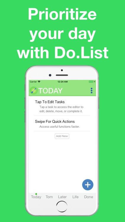 Do.List: To Do List Organizer screenshot-0