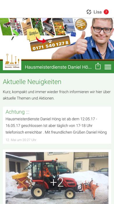Hausmeisterdienste Daniel Höng screenshot one