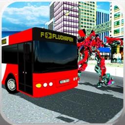 Laser Bus Robot Transform War