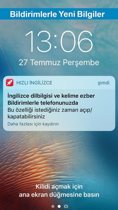 Screenshot for Hızlı İngilizce Gramer in Turkey App Store