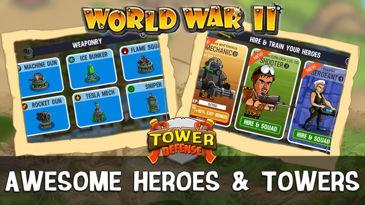 WWII Tower Defense