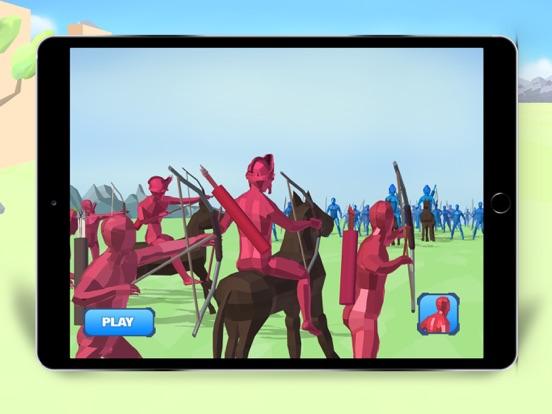 Total Battlegrounds Simulatorのおすすめ画像1