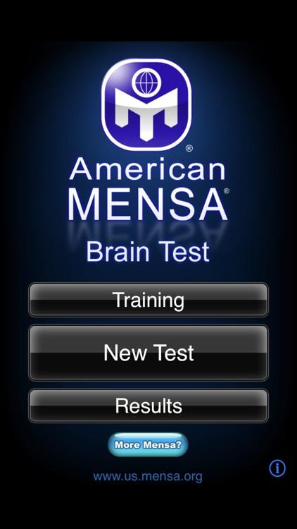 American Mensa Brain Test