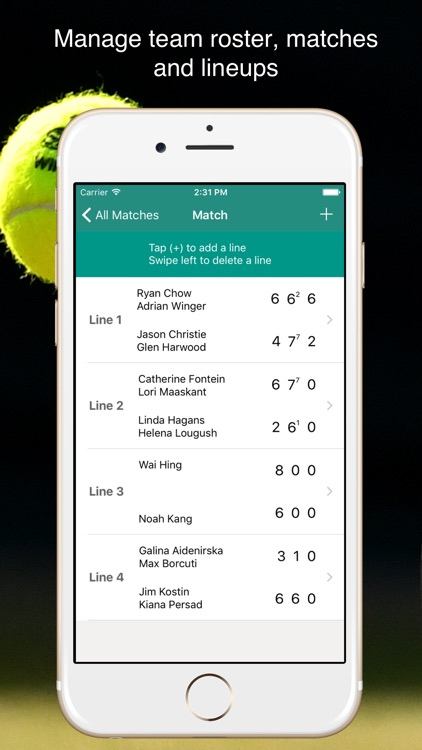 TennisKeeper - Tennis Tracker screenshot-4