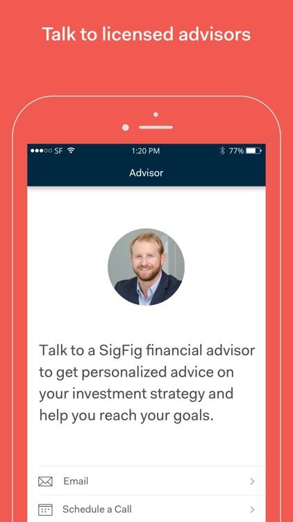 SigFig Wealth Management screenshot-4