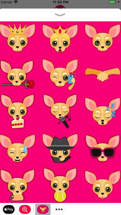 Fawn Chihuahua Emoji Stickers screenshot-3