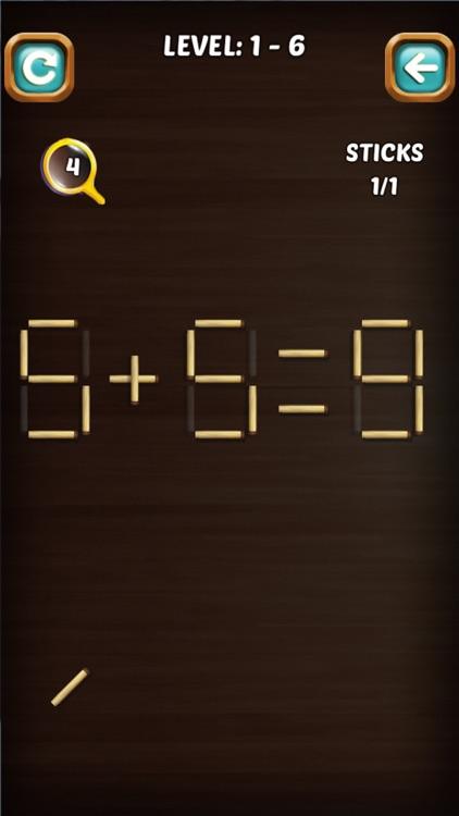 Math Stick Match Puzzle screenshot-4