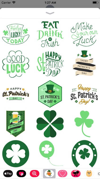 St. Patrick's Day Stickers!!