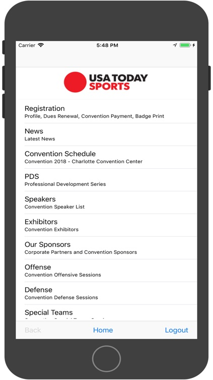 AFCA Mobile 2018 screenshot-3
