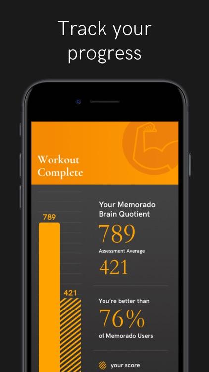 Memorado - Brain Games screenshot-5