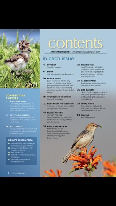 African Birdlife (Magazine) screenshot 2