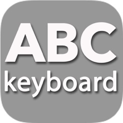 Abc Keyboard Alphabetically Ordered Keys On The App Store