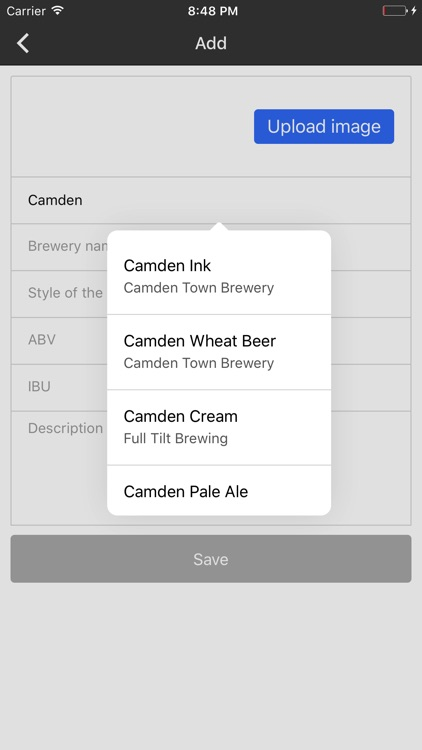 Beer Tasting Journal screenshot-3