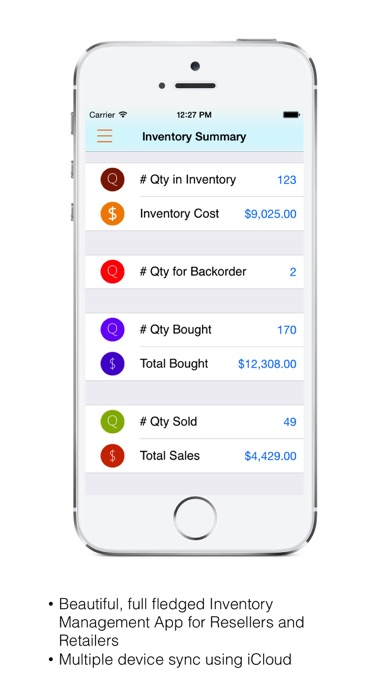 Inventory for Retailer
