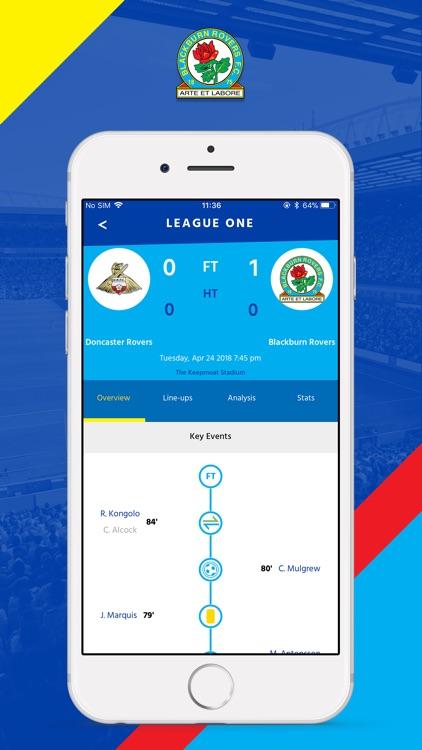 Rovers Fan App screenshot-3