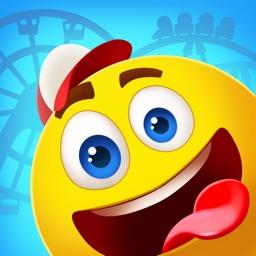 EmojiNation 3: solve puzzles & build Theme Park