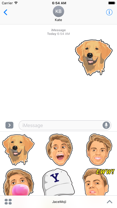 Screenshot for JaceMoji in Denmark App Store