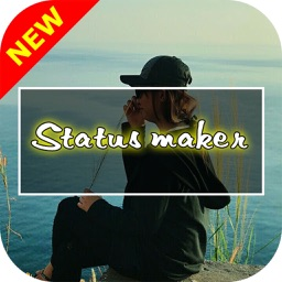 Status maker,Add text to photo