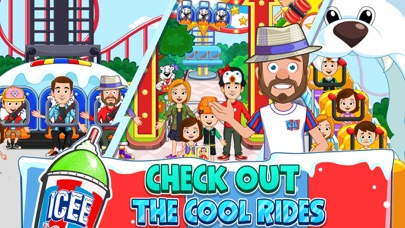 My Town : ICEME Amusement Park screenshot #3
