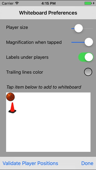 Basketball Whiteboard review screenshots
