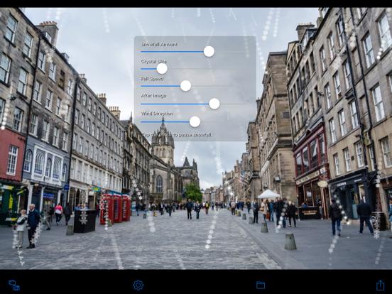 Snowing Camera screenshot 8
