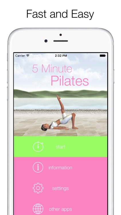 5 Minute Pilates Workouts