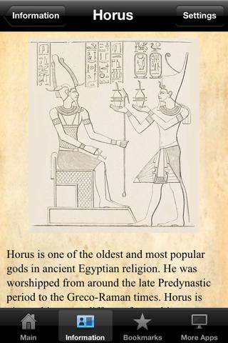 Egyptian Gods Pocket Reference - náhled