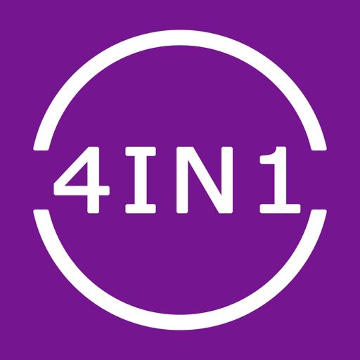 Fraction Calculator 4in1