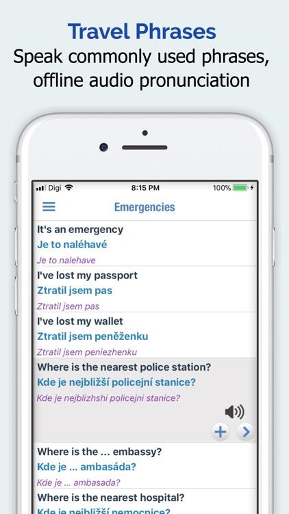 Czech Dictionary Elite screenshot-3