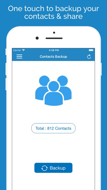 Contacts Backup Manager PRO by App Rover