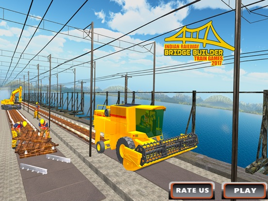 Indian Railway Bridge Builder: Train Game 2017-ipad-4