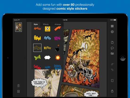 Halftone 2 - Comic Book Creator screenshot