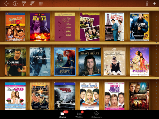Collectors: Movies Books Games screenshot one