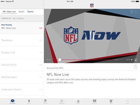 NFL screenshot 4