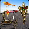 蝎 机器人 汽车 射击