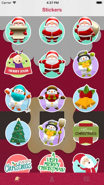 Christmas Wish Sticker