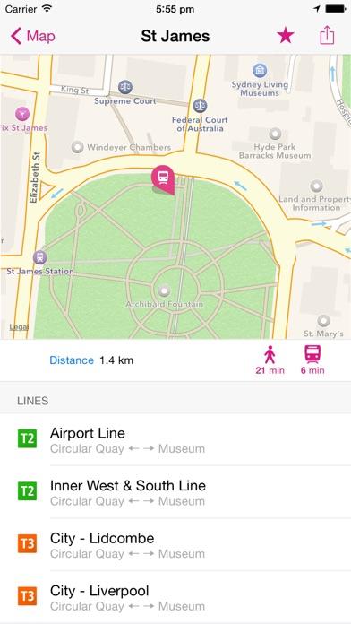 シドニー路線図 Liteのおすすめ画像2