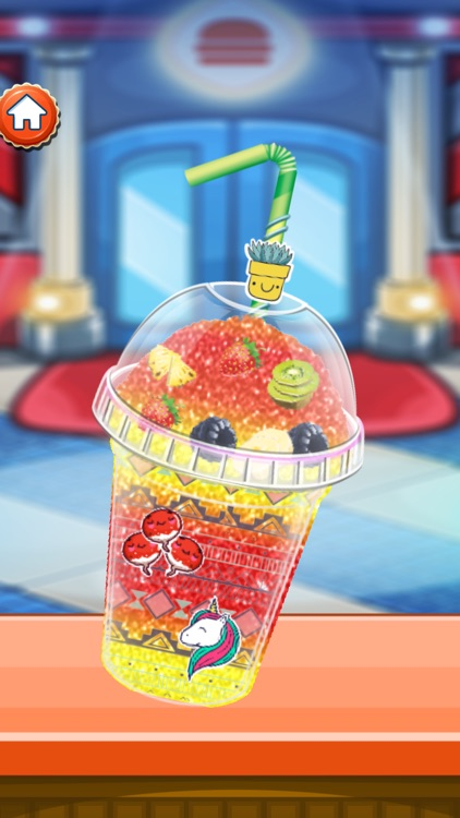 Ice Slushy Maker Rainbow screenshot-4