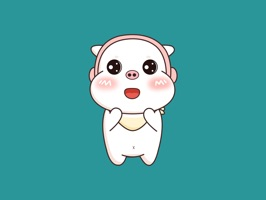 小白猪表情包