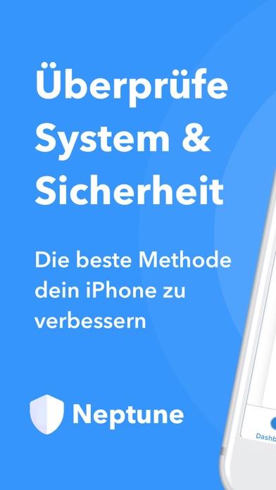 Screenshot for Neptune - Sicherheit & System in Germany App Store