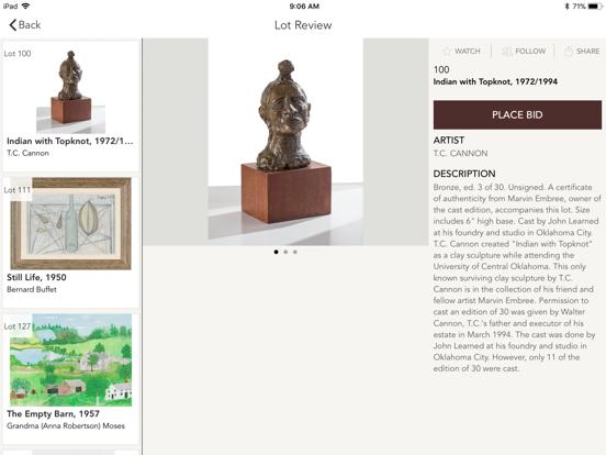 Larsen Art Auction-ipad-2
