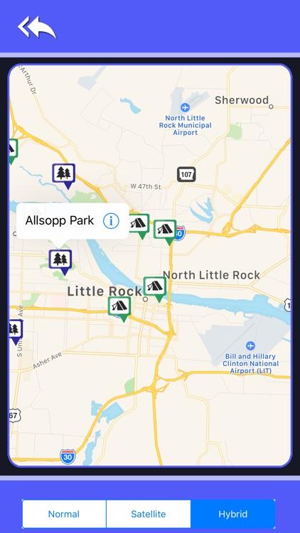 Campgrounds & Rv's In Arkansas screenshot-4